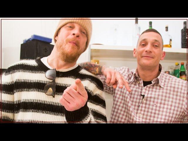$ick und Ferris MC kochen zusammen // Shore, Stein, Papier (16BARS.TV)