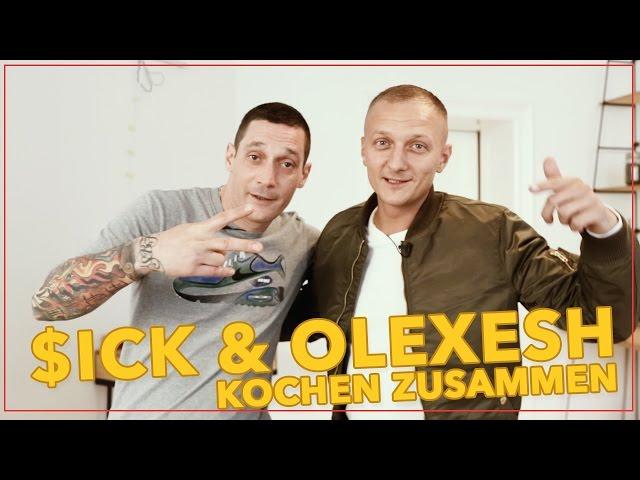 $ick & Olexesh kochen zusammen // Shore, Stein, Papier (16BARS.TV)