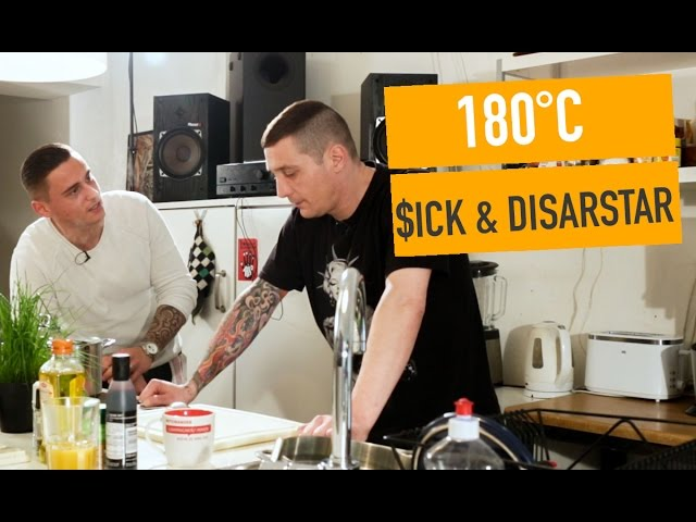 180°C mit $ick & Disarstar // Shore, Stein, Papier (16BARS.TV)