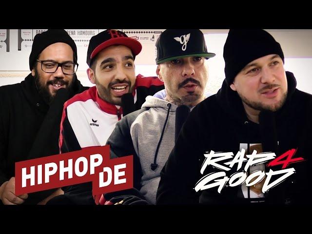 250.000 € für den guten Zweck: Rap4Good mit Kool Savas, Samy Deluxe, Azad, Fard & Co. (Aftermovie)
