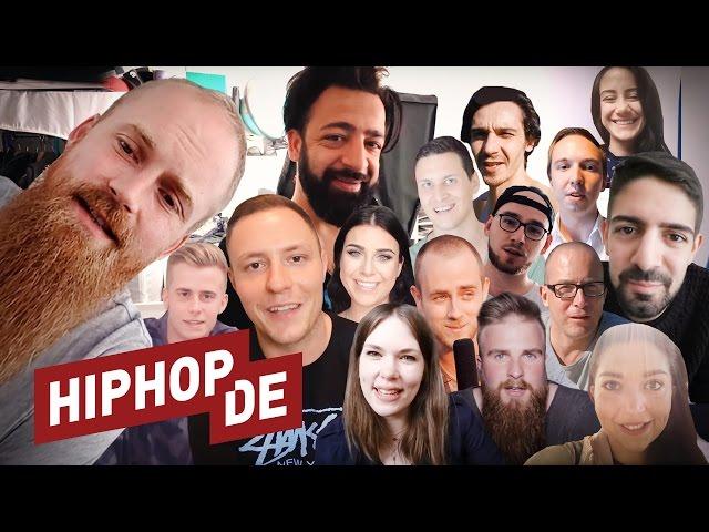 400.000-Abonnenten-Special: Das Hiphop.de-Team stellt sich vor! #waslos