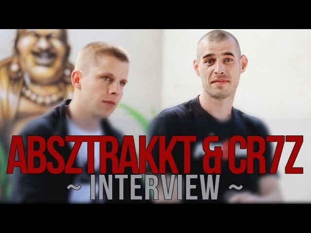 Absztrakkt & CR7Z über Waage & Fische, Drogenkonsum, Techno, Liebe und Geld - Interview