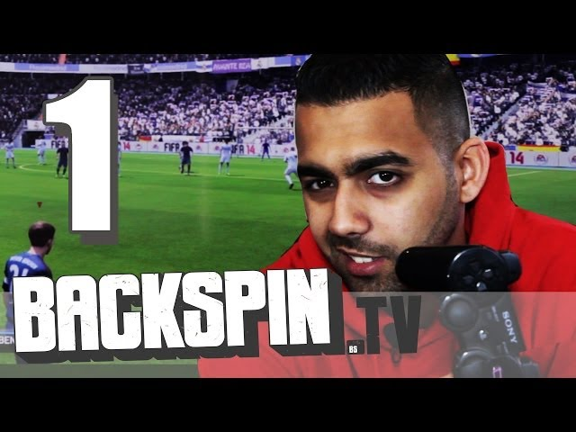 Al-Gear vs. Niko - Fifa 14 (Interview Part 1/2) | BACKSPIN TV #BBDF