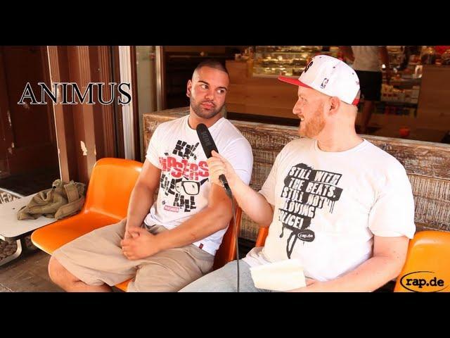 ANIMUS über seinen Maskulin Deal, Curse, Motivation und Hater (rap.de-TV)