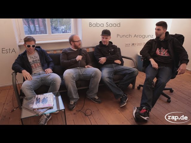 HALUNKEN BANDE - BABA SAAD, EstA, PUNCH AROGUNZ (rap.de-TV)
