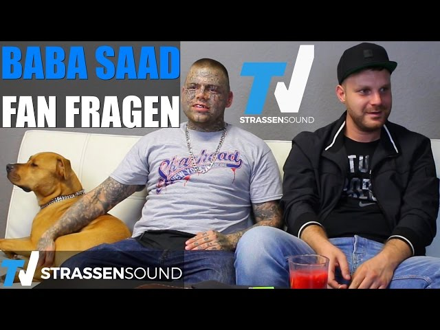 BABA SAAD Fan Fragen: Sido, Fler, CCN3, Letztes Album, Massiv, Kontra K, Kay One, Azad, 187, Götze
