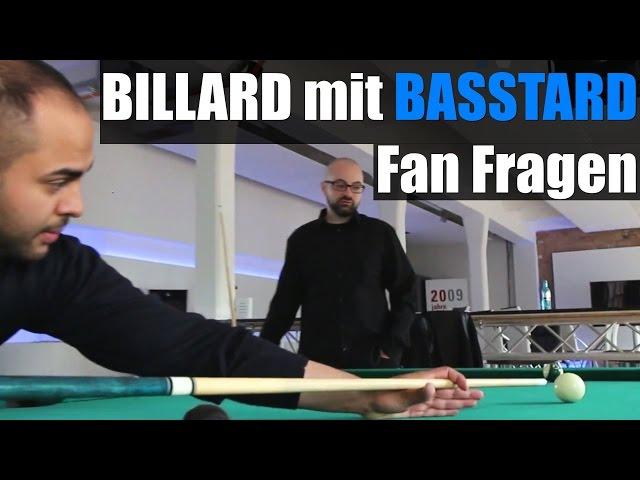 BILLARD mit BASSTARD Fan Fragen: Shisha mit Farid Bang, Orgi, Prinz Pi Album, Iran, Blokkmonsta, PA
