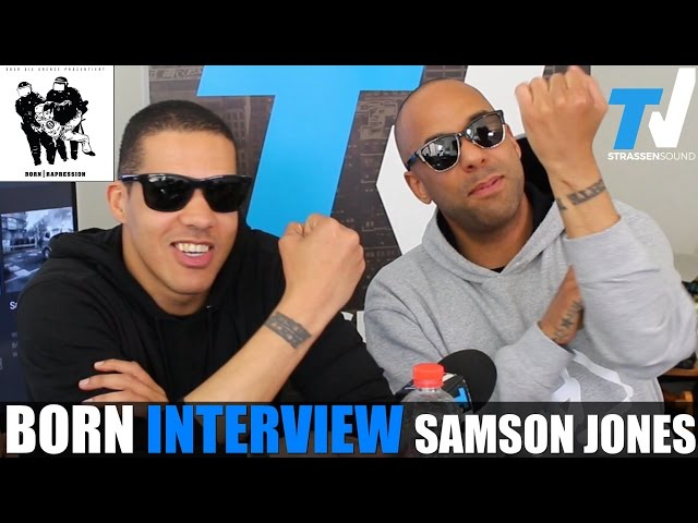 BORN Interview: Samson Jones, Rapression, Twin, Frankfurt, Helene Fischer, Zuna, Auto Tune, Blaze