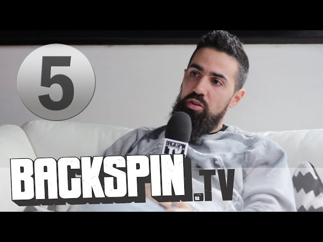 Bushido über die unveröffentlichte Spiegel-Story   BACKSPIN TV (Interview Part 5/8)