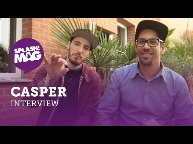 Interview: Casper über Hinterland, den A$AP-Mob und ein Hafti-Feature (splash! Mag TV)