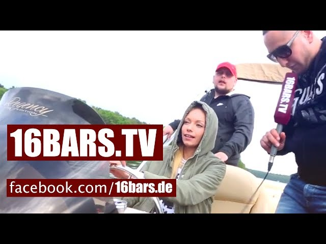 Celo & Abdi und Visa Vie unterwegs auf einem Grillboot (16BARS.TV)