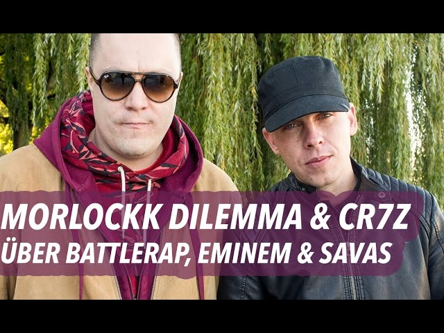 Cr7z & Morlockk Dilemma über Battlerap, Eminem & Kool Savas (16BARS.TV)