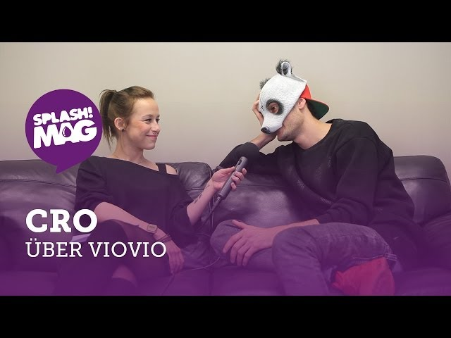 Interview: Cro über VIO VIO, KangaROOS und Glow In The Dark Sohlen (splash! Mag TV)