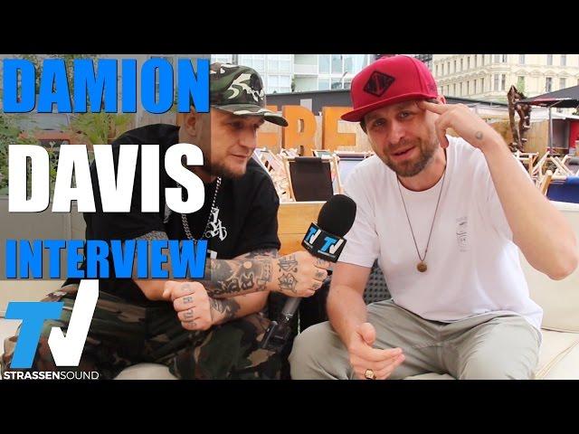 DAMION DAVIS Interview: Politik Realtalk, Kaosloge, Blutzbrüdaz Sido Film, Udo Lindenberg, Conscious