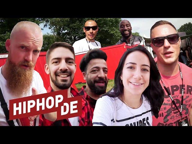 Der geilste Job der Welt? Hiphop.de Family backstage auf dem Out4Fame Festival!