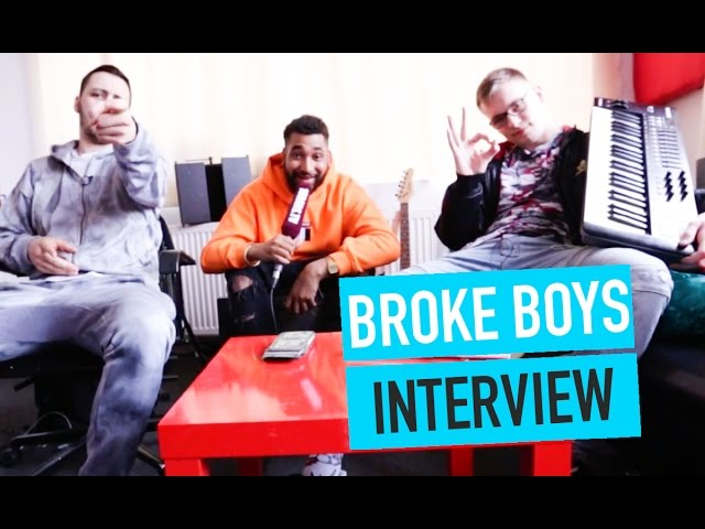 Broke Boys über Ufo361, IB3B, KMN Gang & Trap Or Die (16BARS.TV)