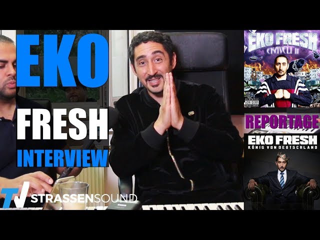 EKO FRESH Interview & Reportage: König Von Deutschland, Ekaveli2, Outlawz, 2Pac, Blockbustaz, Crispy