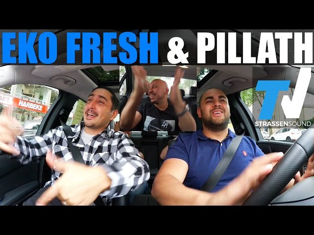 EKO FRESH & PILLATH - MUSIC CAR: Gheddo, Tatlises, Ruhrpott, König Von Deutschland, Quotentürke