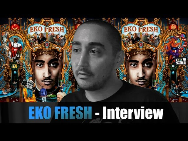 EKO FRESH INTERVIEW über EKSODUS, QUOTENTÜRKE, 1000 BARS, CASSIDY, AZAD, CAPUT, MASSIV, CCN3, ÖZIL