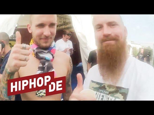 Europas größtes Hiphop-Festival von seiner besten Seite – Backstage beim Openair Frauenfeld 2017
