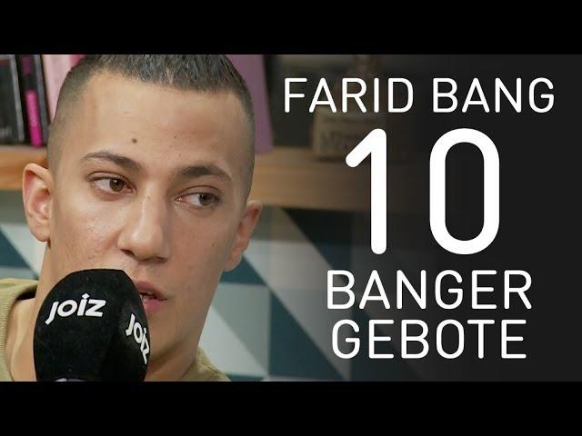 Farid Bang: Begehr deines Nächsten Weib, blas und gut!