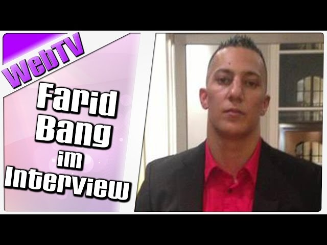 Farid Bang im Interview