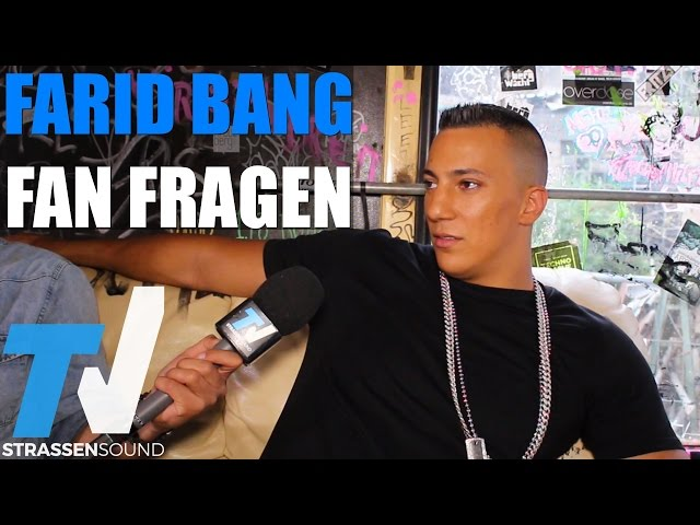 FARID BANG Fan Fragen: Sprechgesangsartist, KC Rebell, ApoRed, Discopumper, Alpa, Nazar, Bogy, Drake