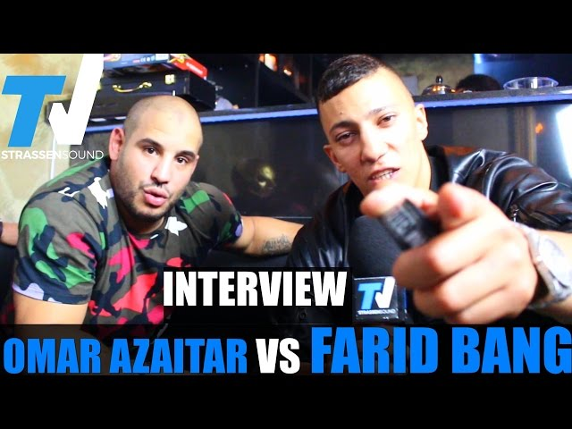 FARID BANG VS OMAR AZAITAR Interview: Biografie, MMA, 18 Karat, BLUT, Journalist, JBG3, Sex, Frauen