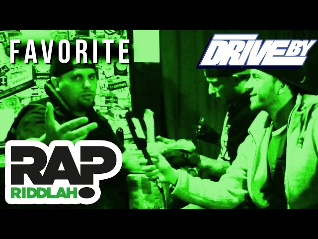 FAVORITE | FRAGE? ANTWORT! (OFFICIAL DRIVE BY INTERVIEW)