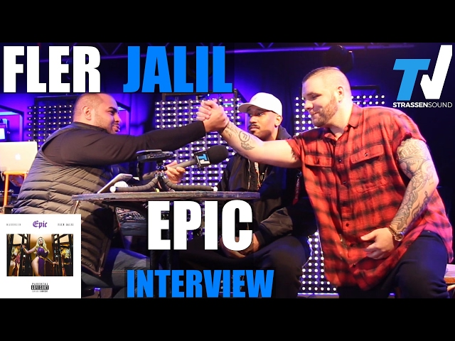 FLER & JALIL EPIC Interview - TV Strassensound