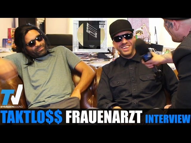 FRAUENARZT & TAKTLOSS Interview: Gott, MC Bogy, Berlin, Autotune, Index, Sido, Prinz Pi, Marteria