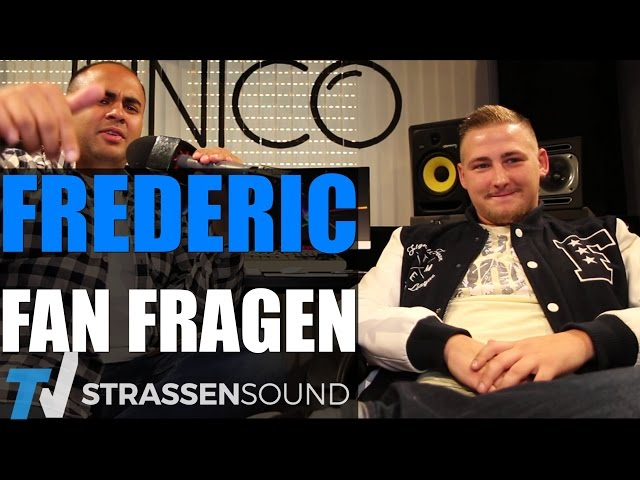 FREDERIC Fan Fragen: Kollegah, Spinning 9, Money Boy, Twitter, Fler, Moneyrain, Helene Fischer, Geld
