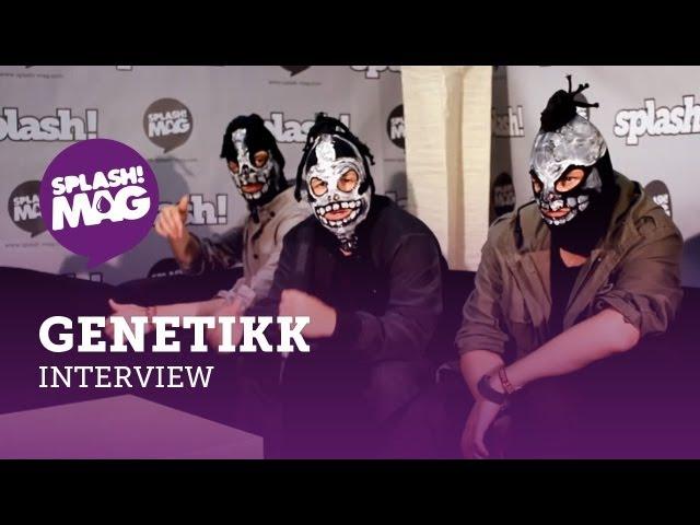 Interview: Genetikk über Selfmade, Zitate auf D.N.A. und ihre Deutschrap-Revolution (splash! Mag TV)