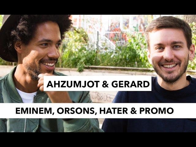 Gerard trifft Ahzumjot: Eminem, Hater, Die Orsons & Promo-Phasen (16BARS.TV)