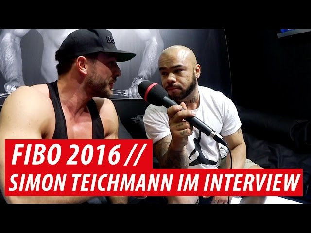 FIBO 2016 // Interview mit Simon Teichmann - Maskulin IP, Klimmzugchallenge, Personal Training