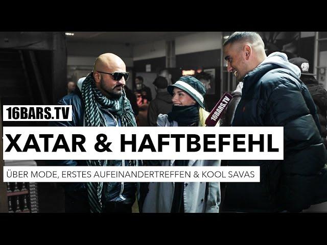 Haftbefehl & Xatar über Mode, erstes Aufeinandertreffen & Savas (16BARS.TV)