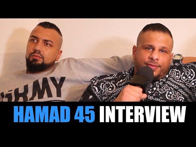 HAMAD 45 INTERVIEW: Xatar, Kay One Diss, Bushido Gangster, Firuz K, Überfall, Schweiz, Fard, Beef