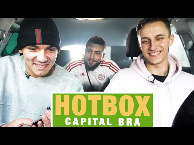 Hotbox mit Capital Bra und Marvin Game (16BARS.TV)