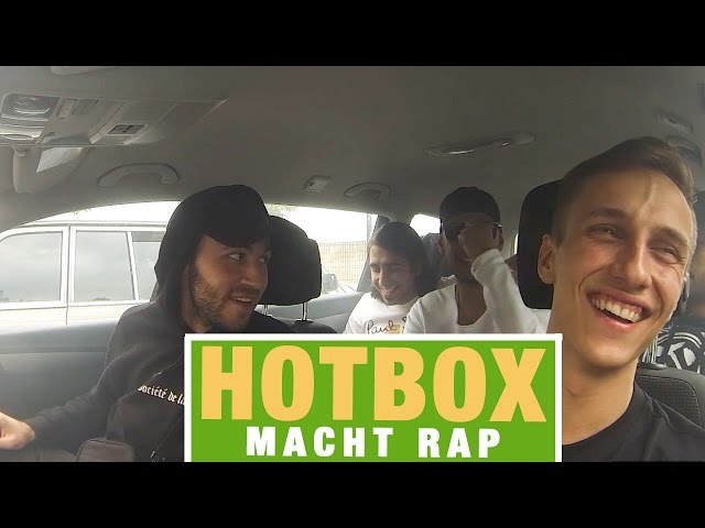 Hotbox mit MACHT Rap & Marvin Game (16BARS.TV)