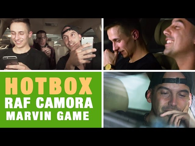 Hotbox mit RAF Camora & Marvin Game (16BARS.TV)