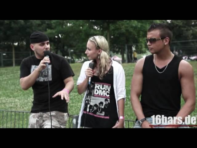 Interview: Kollegah und Favorite beim Rheinkultur Festival (16BARS.TV)