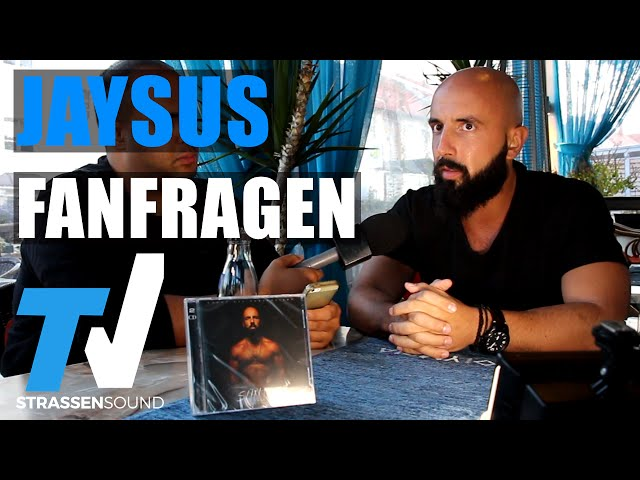 JAYSUS Fan Fragen: Nicki Minaj, Shindy Feature, Sünde, Eko, Kay One, Kollegah, Griechenland, Majoe