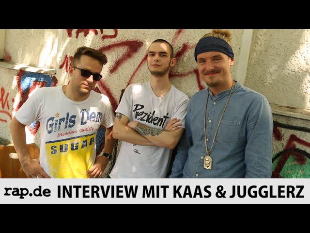 Kaas & Jugglerz über ihre EP, Jamaica, Reggae & Labeldruck (rap.de-TV)