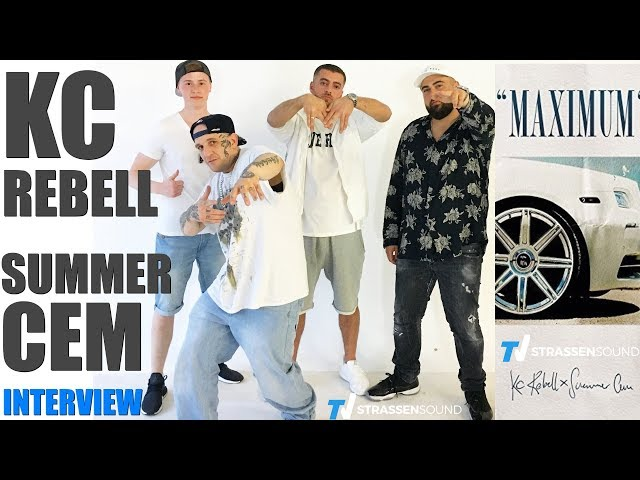 KC REBELL x SUMMER CEM Interview mit MC Bogy zum Kollaboalbum Maximum - TV Strassensound