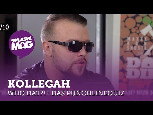 WHO DAT?! – Kollegah im Punchline-Quiz (splash! Mag TV)