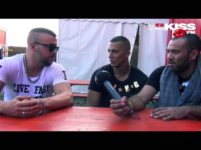 FARID BANG & KOLLEGAH: Interview Out4Fame Festival / Farid zu hart?, Kool Savas,
