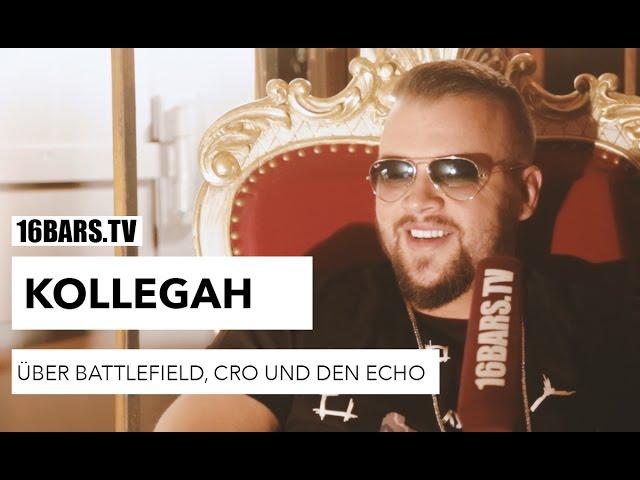 Kollegah über Battlefield, Cro und den Echo (16BARS.TV)