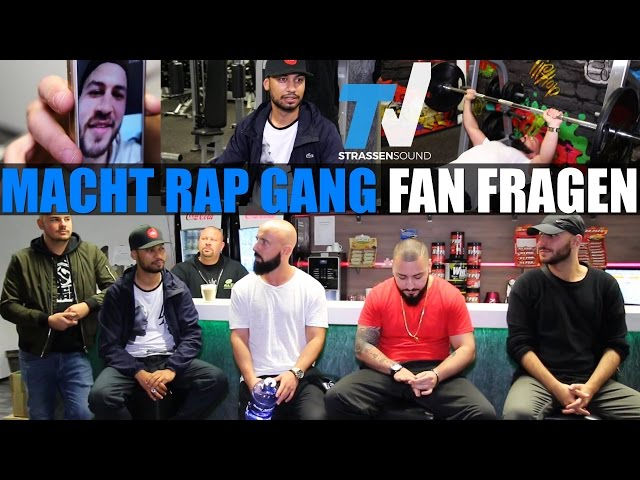 MACHT RAP GANG Fitness Fragen: Kay One, Silla, Fler, Kaaris, Cloud Rap, Lil Kleine, Sophia Thomalla
