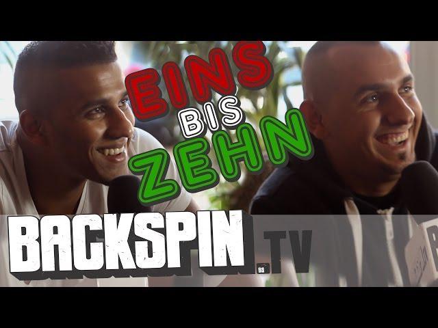 1 bis 10 mit Majoe und Jasko | BACKSPIN TV #577
