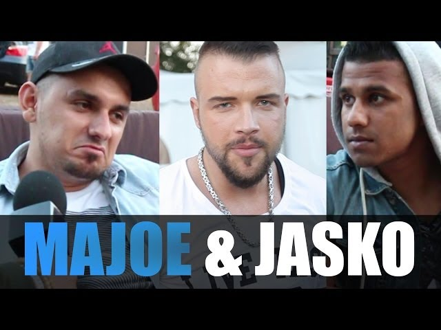 MAJOE & JASKO INTERVIEW: Out4Fame, Kollegah, Sinan G, Badt, Groupie, Farid Bang, Malle, Beintrainng